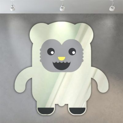 miroir enfant ours design 3