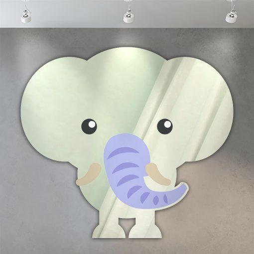 miroir enfant éléphant