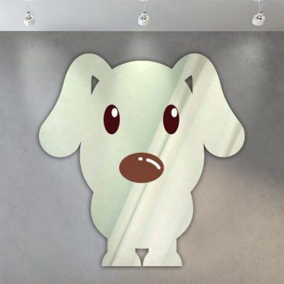miroir enfant chien