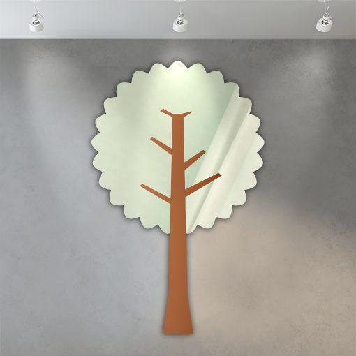 miroir enfant arbre