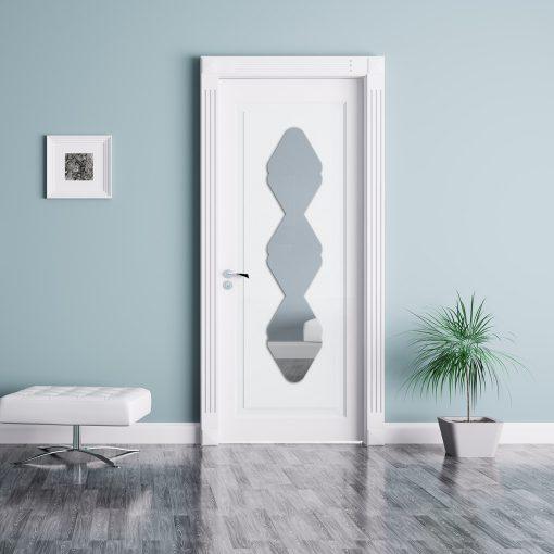 décoration miroir porte design 19